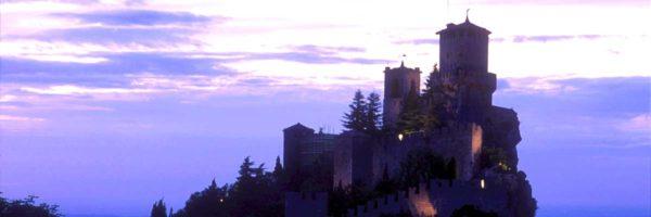 Una delle rocche di San Marino