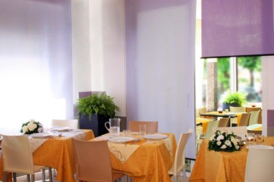 Il ristorante dell'Hotel Villa Rossi